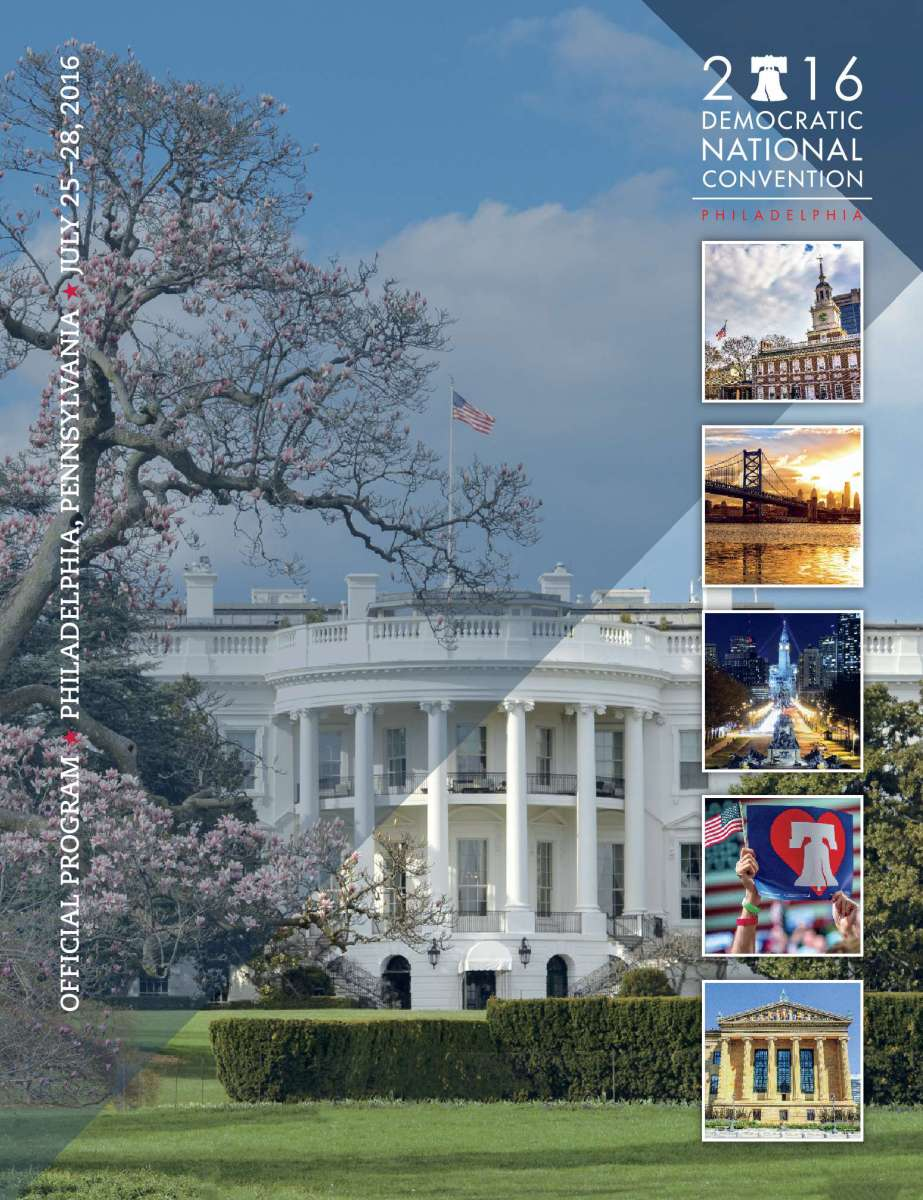 The Official Program for the 2016 Democratic National Convention