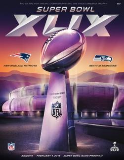 Official Super Bowl XLIX Game Program