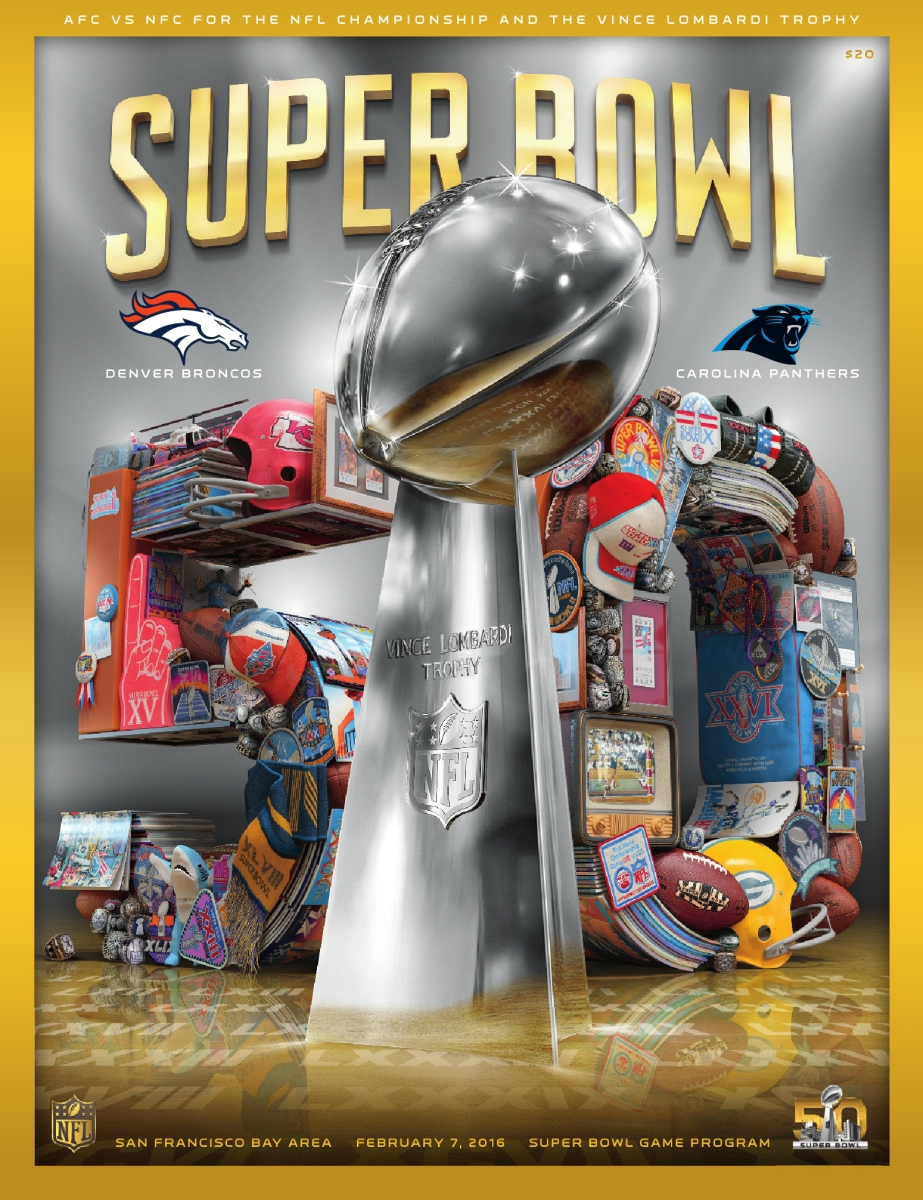 427d99eadb515 Official Super Bowl 50 Game Program