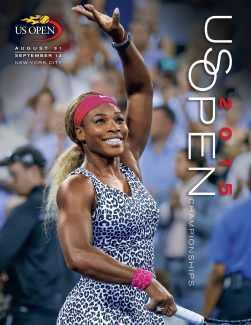Official US Open Tennis Tournament Program